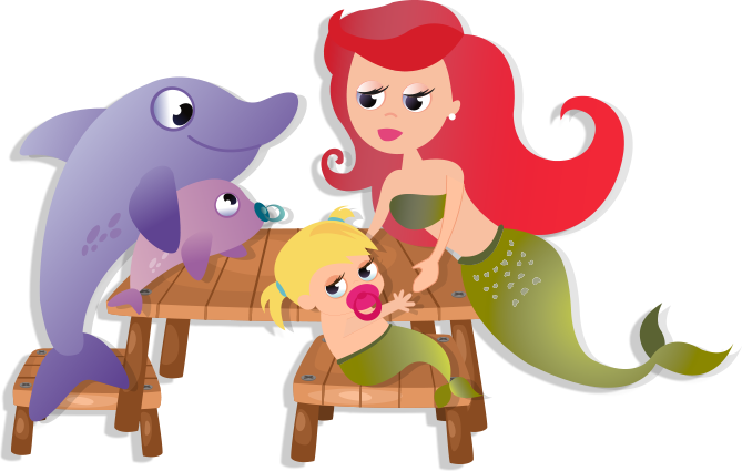 Like the Little Mermaid, in Nenoos we care about your children and their training, in order to improve the talent and creativity of your children